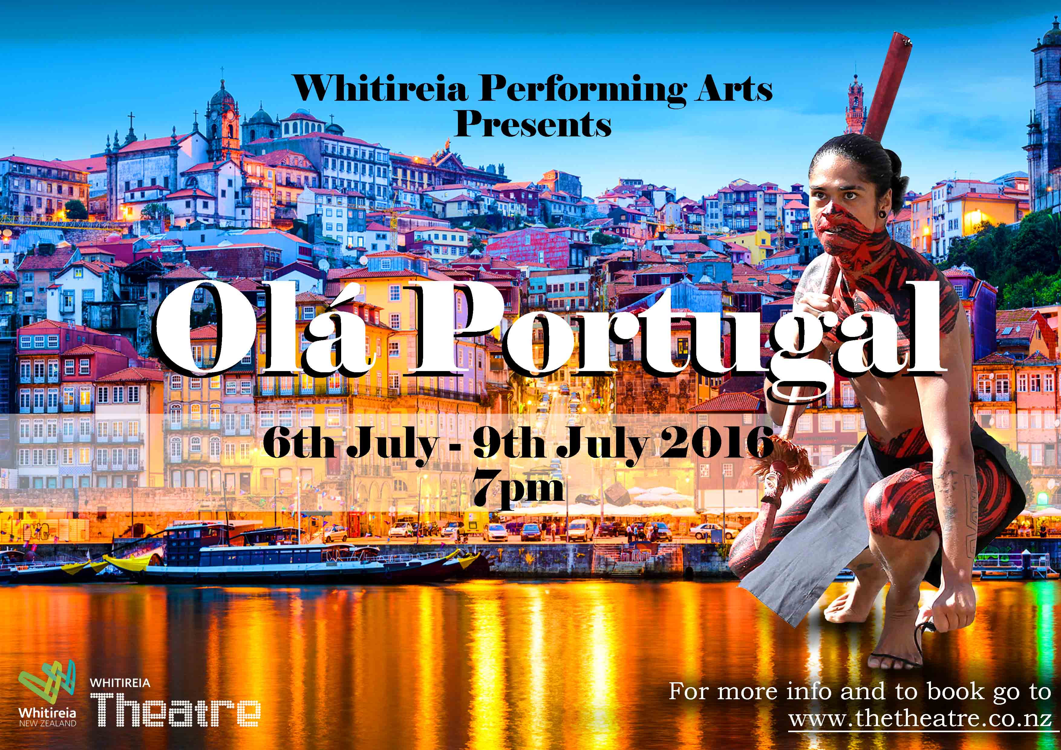 Poster for Ola Portugal show