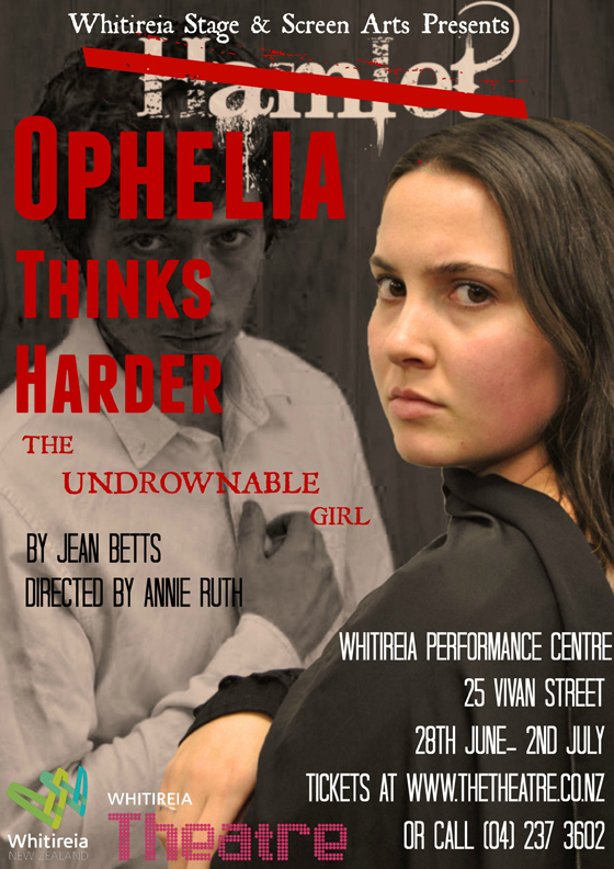 Poster for Ophelia thinks harder show