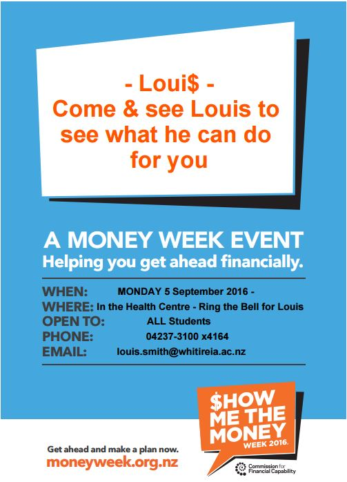 Money Week Poster