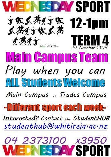 Wednesday Sport