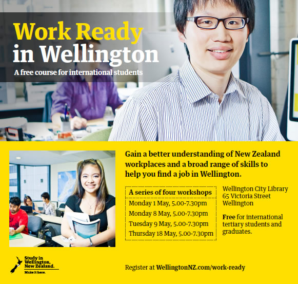 Work Ready in Wellington Programme