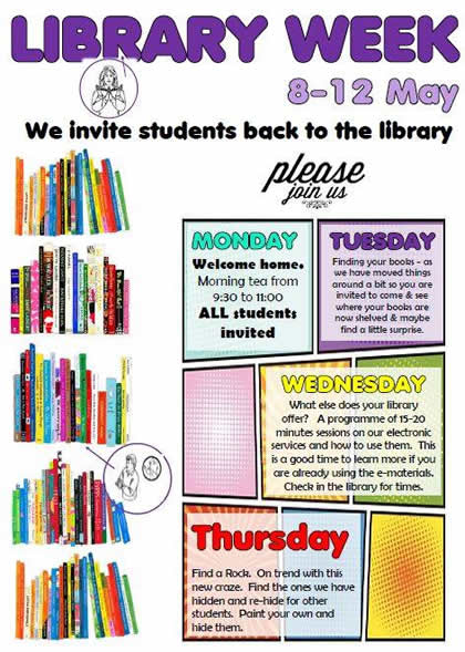 Library Week 8 - 12 May 2017