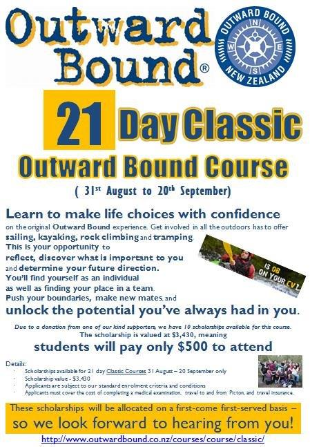 Outward Bound Opportunity