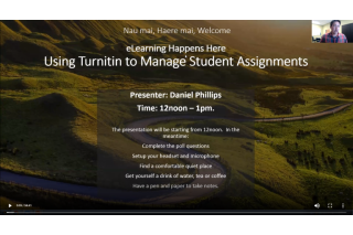 eLearning Happens Here | Using Turnitin to manage student assignments